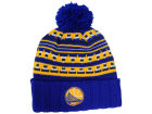 Golden State Warriors Mitchell and Ness NBA Mixtec Pom Knit Hats