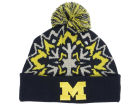 Michigan Wolverines New Era NCAA Glowflake 2.0 Knit Hats