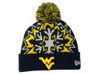 West Virginia Mountaineers New Era NCAA Glowflake 2.0 Knit Hats