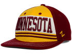 Minnesota Golden Gophers Zephyr NCAA Headline Snapback Hat Adjustable Hats
