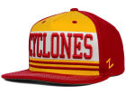 Iowa State Cyclones Zephyr NCAA Headline Snapback Hat Adjustable Hats