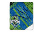 Seattle Sounders FC The Northwest Company 50x60in Plush Throw Blanket Bed & Bath