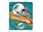 Miami Dolphins The Northwest Company 50x60in Plush Throw Blanket