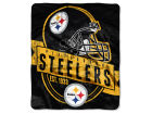 Pittsburgh Steelers The Northwest Company 50x60in Plush Throw Blanket