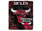 Chicago Bulls The Northwest Company 50x60in Plush Throw Drop Down Bed & Bath