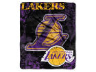 Los Angeles Lakers The Northwest Company 50x60in Plush Throw Drop Down Bed & Bath