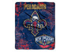 New Orleans Pelicans The Northwest Company 50x60in Plush Throw Drop Down Bed & Bath