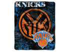 New York Knicks The Northwest Company 50x60in Plush Throw Drop Down Bed & Bath