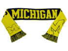 Michigan Wolverines Forever Collectibles Acrylic Knit Scarf Reversible Split Logo Apparel & Accessories