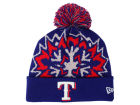 Texas Rangers New Era MLB Glowflake 2.0 Knit Hats