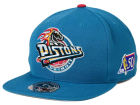 Detroit Pistons Mitchell and Ness NBA 50th High Crown Fitted Cap Hats
