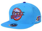 Utah Jazz Mitchell and Ness NBA 50th High Crown Fitted Cap Hats