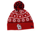 St. Louis Cardinals New Era MLB Sweater Chill Pom Knit Hats