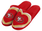 San Francisco 49ers Forever Collectibles Love Glitter Ladies Slide Slipper Apparel & Accessories