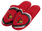 Louisville Cardinals Forever Collectibles Love Glitter Ladies Slide Slipper Apparel & Accessories