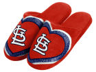 St. Louis Cardinals Forever Collectibles Love Glitter Ladies Slide Slipper Apparel & Accessories