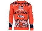 Denver Broncos Forever Collectibles NFL Men's Commemorative Ugly Sweater Fleece
