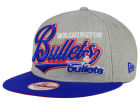 Washington Bullets New Era NBA HWC Big Heather 9FIFTY Snapback Cap Adjustable Hats