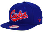 Chicago Cubs New Era MLB XL Script 9FIFTY Snapback Cap Adjustable Hats