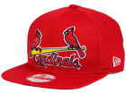 St. Louis Cardinals New Era MLB XL Script 9FIFTY Snapback Cap Adjustable Hats