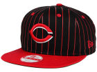 Cincinnati Reds New Era MLB Vintage Pinstripe 9FIFTY Snapback Cap Adjustable Hats