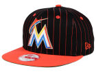 Miami Marlins New Era MLB Vintage Pinstripe 9FIFTY Snapback Cap Adjustable Hats
