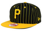 Pittsburgh Pirates New Era MLB Vintage Pinstripe 9FIFTY Snapback Cap Adjustable Hats