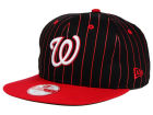 Washington Nationals New Era MLB Vintage Pinstripe 9FIFTY Snapback Cap Adjustable Hats