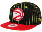 Atlanta Hawks New Era NBA Hardwood Classics Vintage Pinstripe 9FIFTY Snapback Cap Adjustable Hats