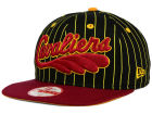 Cleveland Cavaliers New Era NBA Hardwood Classics Vintage Pinstripe 9FIFTY Snapback Cap Adjustable Hats
