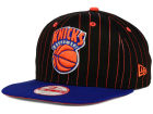 New York Knicks New Era NBA Hardwood Classics Vintage Pinstripe 9FIFTY Snapback Cap Adjustable Hats