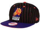 Phoenix Suns New Era NBA Hardwood Classics Vintage Pinstripe 9FIFTY Snapback Cap Adjustable Hats
