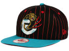 Vancouver Grizzlies New Era NBA Hardwood Classics Vintage Pinstripe 9FIFTY Snapback Cap Adjustable Hats