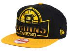 Boston Bruins New Era NHL Grader 9FIFTY Snapback Cap Adjustable Hats