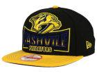 Nashville Predators New Era NHL Grader 9FIFTY Snapback Cap Adjustable Hats