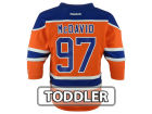 Edmonton Oilers Connor McDavid Reebok NHL Toddler Replica Player Jersey Jerseys
