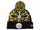 Pittsburgh Steelers New Era NFL Glowflake 2.0 Knit Hats