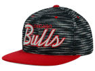 Chicago Bulls Mitchell and Ness NBA Space Knit Strapback Cap Adjustable Hats