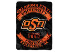 Oklahoma State Cowboys The Northwest Company 60x80 Raschel Throw Bed & Bath