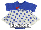 Kansas Jayhawks NCAA Newborn Polka Dot Dress Infant Apparel