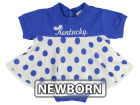Kentucky Wildcats NCAA Newborn Polka Dot Dress Infant Apparel