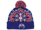 Edmonton Oilers New Era NHL Glowflake 2.0 Knit Hats