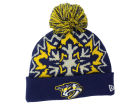 Nashville Predators New Era NHL Glowflake 2.0 Knit Hats