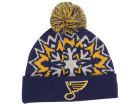 St. Louis Blues New Era NHL Glowflake 2.0 Knit Hats