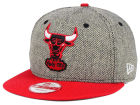 Chicago Bulls New Era NBA Hardwood Classics Houndsteam Snapback Cap Adjustable Hats