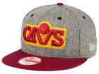 Cleveland Cavaliers New Era NBA Hardwood Classics Houndsteam Snapback Cap Adjustable Hats