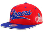 Los Angeles Clippers Mitchell and Ness NBA Billboard Script Snapback Cap Adjustable Hats