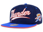 Oklahoma City Thunder Mitchell and Ness NBA Billboard Script Snapback Cap Adjustable Hats