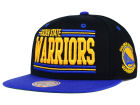 Golden State Warriors Mitchell and Ness NBA Team Block Snapback Cap Adjustable Hats