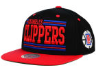 Los Angeles Clippers Mitchell and Ness NBA Team Block Snapback Cap Adjustable Hats